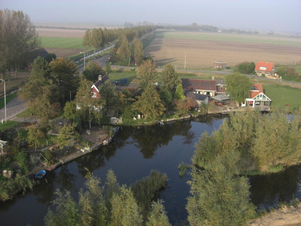 Aerfotos Steenplaats, Strijen, NL, 2008-10-12