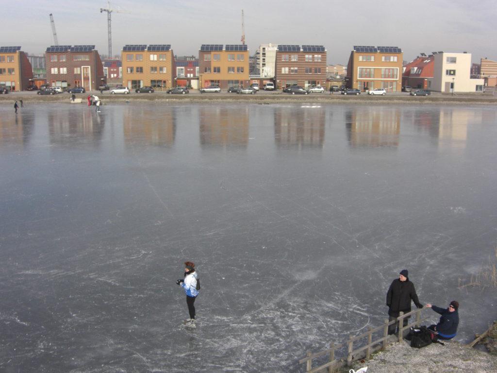 Aerfotos Schaatsen, Oosttangent, Heerhugowaard, NL, 2009-01-11
