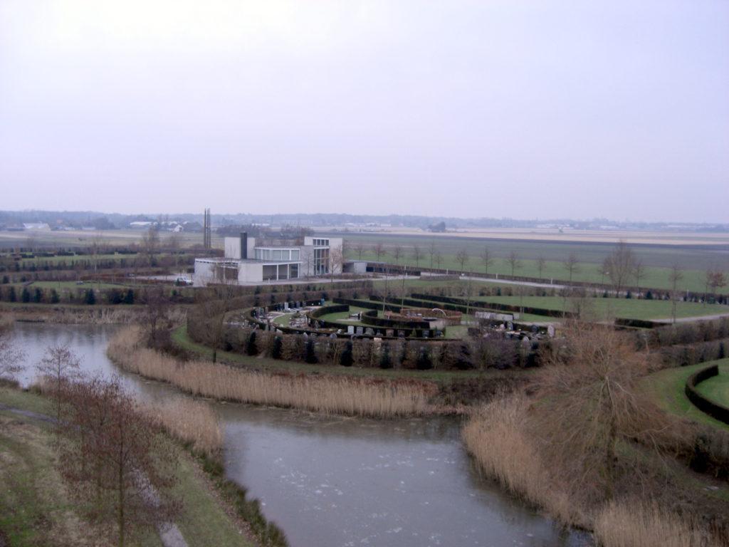 Aerfotos Begraafplaats Meertenpel, Noppenstraat, Zwaanshoek, NL, 2009-01-16