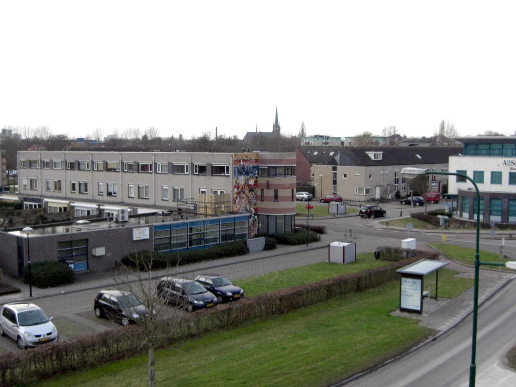 Aerfotos Dierenkliniek Woerden, Steinhavenseweg, Woerden, NL, 2009-01-25