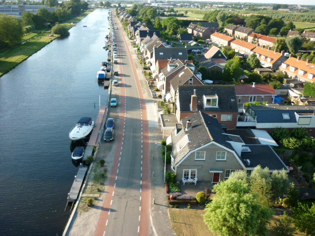 Aerfotos Ringvaart, Lisserdijk, Lissebroek, NL, 2009-07-04
