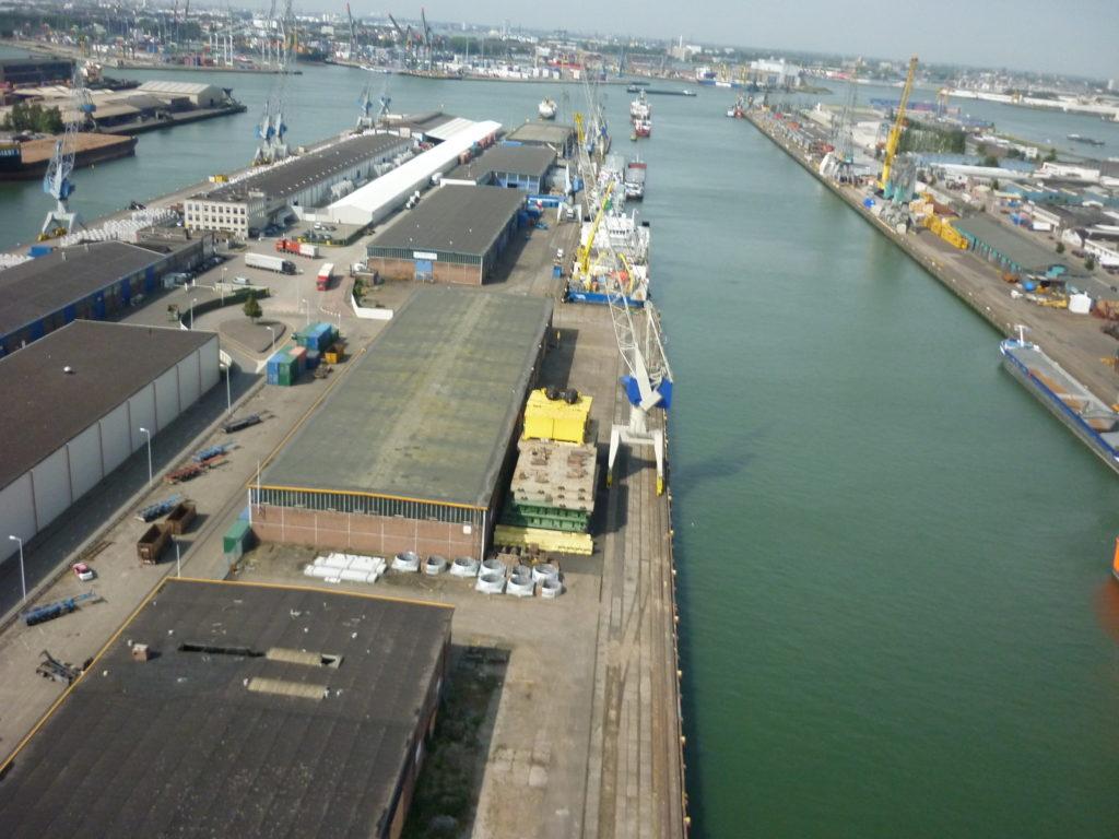 Aerfotos Waalhaven, Rotterdam, NL, 2009-08-26
