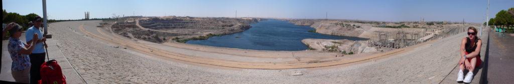 Panoramas Aswan Dam, Aswan, EG, 2007-08-10