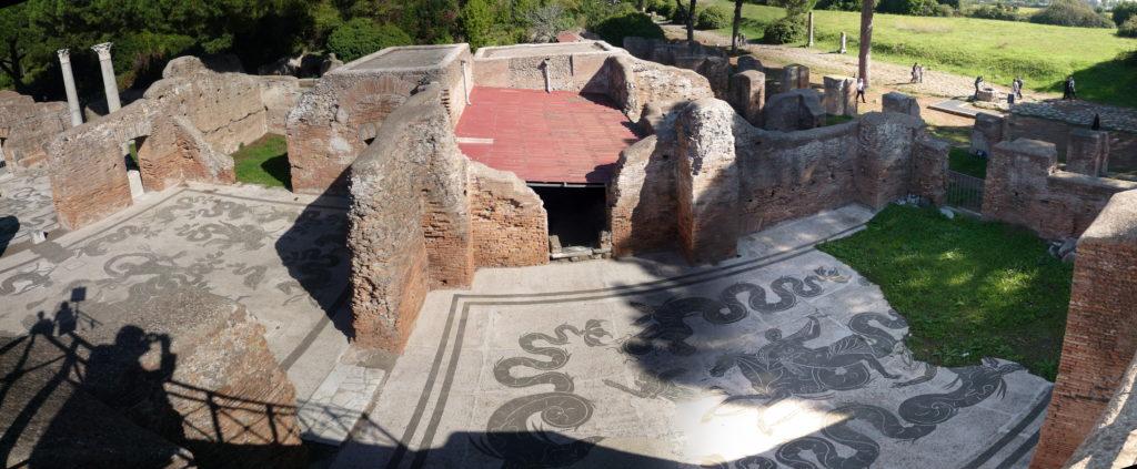 Panoramas Ostia, IT, 2009-10-20