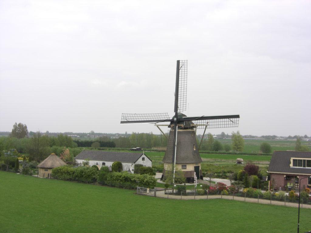 Aerfotos Windmolen, Oudhuizerweg 109, Wilnis, NL, 2009-04-19
