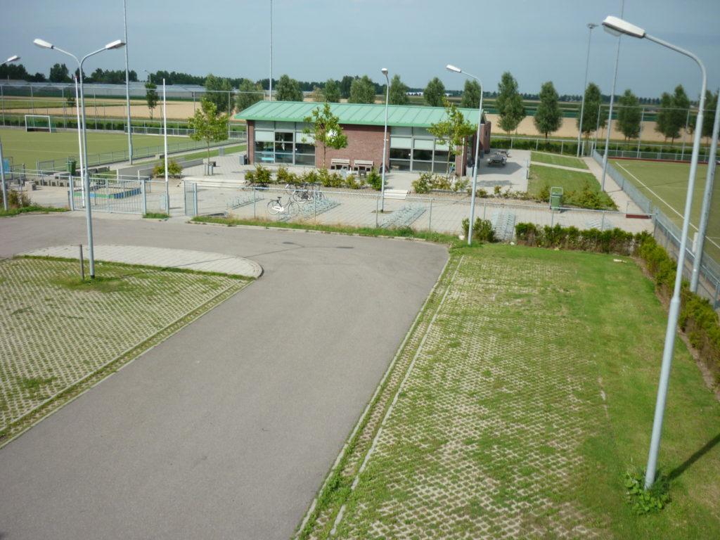 Aerfotos Fandango sportvelden, Nieuw Vennep, NL, 2009-07-21