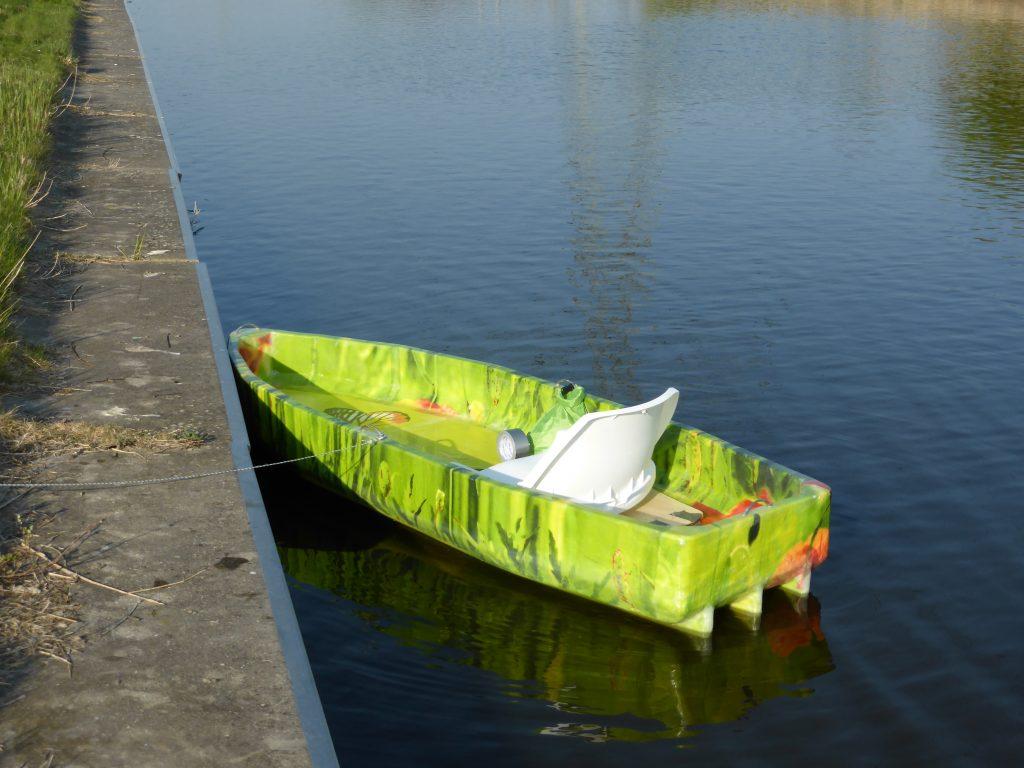 Nomadulino v01, my first hybrid foam kayak / canoe